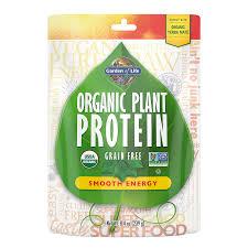 <b>Organic Plant Protein</b> Smooth Energy - 8.4 oz (239g)