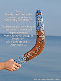 Inspirational Quotes – Boomerang effect | The Love and Uplifting ...