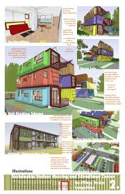 Modern House Plans by Gregory La Vardera Architect  IBU    The second panel described characteristics of the experience living in the complex  One of our stock plans  the Steel Case House stood in for a