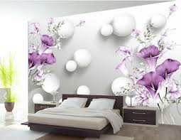 buy d modern wallpapers home decor flower
