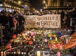 Image result for brussels terror image