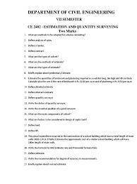 ce2402 estimation and quantity surveying pdf