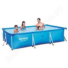 <b>Чаша для каркасного бассейна</b> splash bestway 300х201х66 см ...
