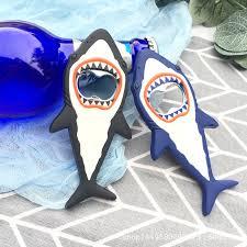 1 Pc Shark <b>Beer</b> Bottle Opener Magnet Shark Shaped magnet fridge ...