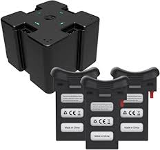 Holy Stone 4 in 1 Battery Charging Hub with 3pcs 3.7 ... - Amazon.com