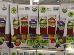 gluten stretch island organic fruit strips