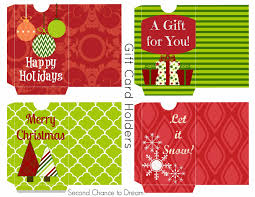 printable gift tags gift card holders second chance to dream printable gift tags gift card holders