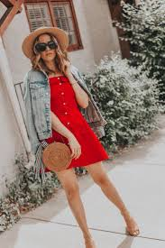 The Perfect Red <b>Summer Dress</b> for 4th of <b>July</b> | What to <b>Wear</b> For ...