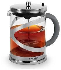 Rondell <b>Заварочный чайник</b> Crystal Grey RDS-1061 <b>1 л</b> купить по ...