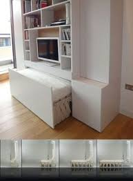 lots of pictures of great ideas for space saving beds including murphy beds heres another quick alternative featuring a concertina design which you can aliance murphy bed desk