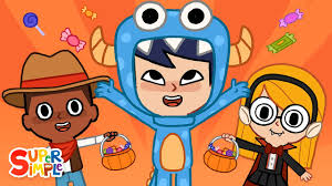 Hello, <b>Trick</b> Or Treat?   <b>Halloween</b> Song for Kids   Super Simple ...