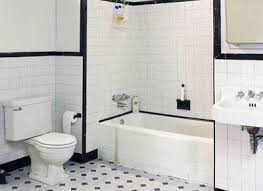 bathroom white tiles:  images about black and white tile bathroom on pinterest the floor black and white tiles and white subway tile bathroom