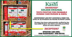 GMO Free USA Finds Carcinogenic Weedkiller and GMOs in Kashi ...