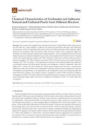 (PDF) Chemical Characteristics of <b>Freshwater</b> and Saltwater <b>Natural</b> ...