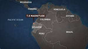 Image result for earthquake ecuador