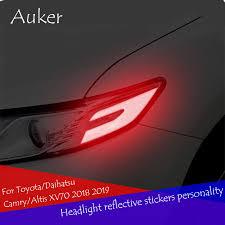<b>Car</b> headlight reflective <b>stickers personality</b> anti collision warning ...