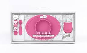 Каталог <b>Набор из 4х</b> предметов ezpz - First Food Set (розовый) от ...