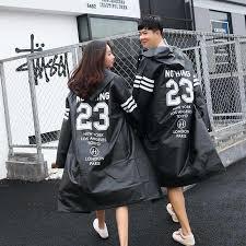 Best selling high quality <b>EVA</b> black <b>adult</b> raincoat Allen Walker ...