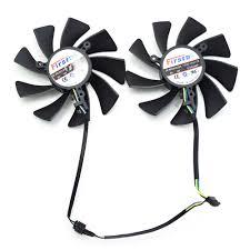 <b>2pcs</b>/<b>lot 85MM</b> FD9015U12S XFX HD7970 <b>4Pin</b> Cooling Fan For ...
