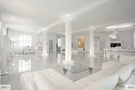 contemporary black white interior by knq associates all white interior design can you handle that all white furniture design