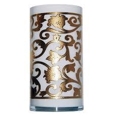 <b>Ваза Gold Flower</b>, <b>малая</b> с логотипом на заказ в Воронеже ...