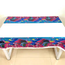<b>108cm*180cm Trolls Party</b> Supplies Tablecloth Birthday Party ...