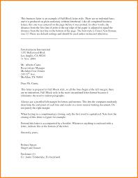8 block style business letter technician resume block style business letter