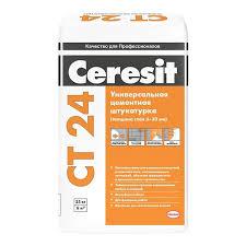 <b>Штукатурка</b> универсальная <b>цементная Ceresit</b> СТ24 25 кг купить ...