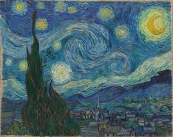 Vincent van Gogh. <b>The Starry Night</b>. Saint Rémy, June 1889 | MoMA