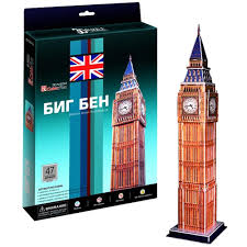 Купить 3D пазл <b>Cubicfun Биг бен</b> (Великобритания) C094h в ...