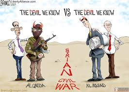 Image result for syria war cartoons