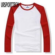 2020 <b>New Spring Autumn</b> Long Sleeve T Shirt Men Contrast Color ...