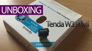 <b>Tenda</b> - W311MI | Mini <b>wireless USB WiFi adapter</b> - Unboxing ...