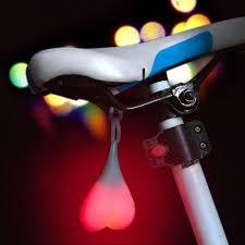 <b>BIKE</b> BALL LIGHTS LED <b>Cycling</b> Flash <b>Night</b> Heart Warn <b>Tail light</b> ...