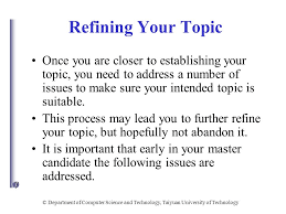 essay topics on technology science and technology topic  more information presentation quot department of computer science and technology