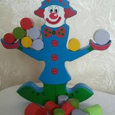 <b>Деревянные</b> весы балансир <b>Клоун</b> – купить в Москве, цена 300 ...
