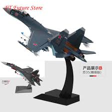 Collectible 44cm <b>Children Toys</b> 1:48 <b>Su35</b> aircraft fighter <b>Su 35</b> ...