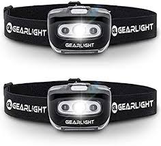 GearLight <b>LED Headlamp</b> Flashlight S500 [2 PACK] - Running ...