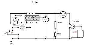 make a simple audio amplifier   circuit diagram