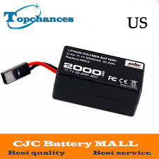 US <b>High</b> Quality <b>2000mAh</b> 11.1V Powerful Li Polymer Battery For ...