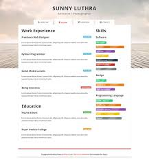 free cv resume templates   html psd  amp  indesign     web      resume
