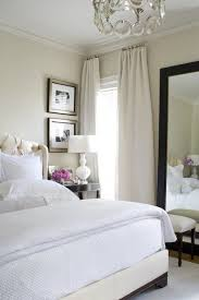 white bedroom wall color