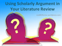Literature Review   No ABD  All But Dissertation  for Me  No ABD  All But Dissertation  for Me    WordPress com However  there are a number of qualities that scholarly arguments should not include  The first is vocabulary that evokes emotion