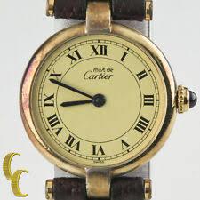 <b>Must de Cartier</b> Vermeil Wristwatches for sale | eBay