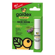 <b>Бальзам после</b> укусов <b>GARDEX</b> FAMILY роликовый — купить в ...