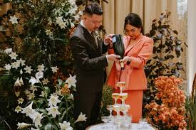 <b>Say no to</b> the dress: More brides in S'pore suit up for the big day, Life ...