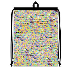 сумка плечевая город подарков мешок дорожный фиолетовый
