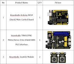 KS0488 Keyestudio <b>4DOF Robot Arm DIY</b> Kit V2.0 for Arduino ...