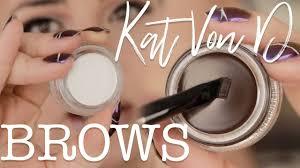 NEW <b>KAT VON D</b> BROW <b>POMADE</b> | SIGNATURE BROW PENCIL ...