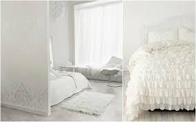white bedroom design idea girly bedroom white